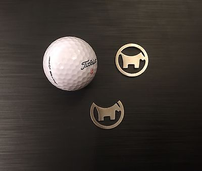 Scotty Dog Golf Ball Markers, Titleist, Srixon, Callaway, Nike, Taylormade