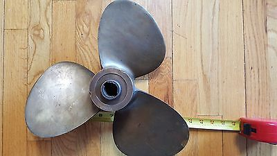 "13"" Michigan Pr 119 Brass / Bronze Boat / Ship Propeller / Prop Maritime Decor"