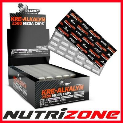 OLIMP Kre Alkalyn 2500 Buffered Creatine Monohydrate No Loading 15-210 caps