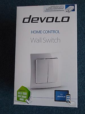 Devolo Home Control Wall Switch 09505 via iOS/Android, Smart Apps