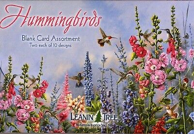 Hummingbirds - Blank Card Assortment by Leanin' Tree (AST90633) - 20 cards with