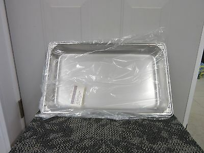 """Vollrath Super Pan Ii Stainless Steel 8.3 Quarts Steam Table 18-8 2"""" 3002-2 New"""