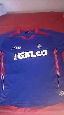 Getafe CF Official Home Shirt Camiseta Size XL 08/09 Joma