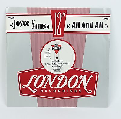 """Joyce Sims  All and All  12"""""""