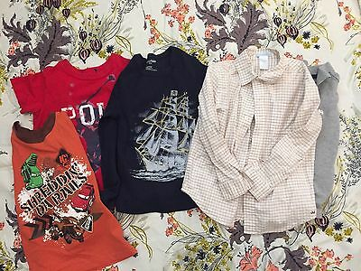 5 Piece LOT Boys 4T Fall Winter Janie and Jack Baby Gap Polo Ralph Lauren Cars