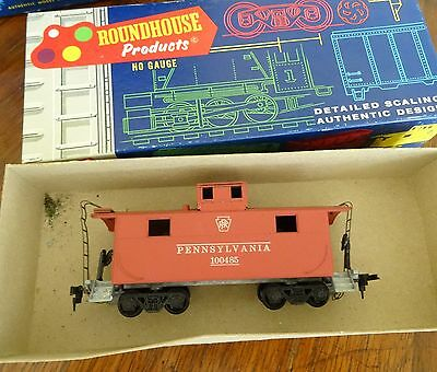 Toys & Hobbies HO SCALE ROUNDHOUSE CABOOSE STEEL 2 WINDOW 03471 PENNSYLVANIA NEW