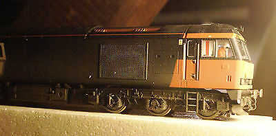 OO Gauge Hornby Class 60 Loadhaul weathered DCC ready