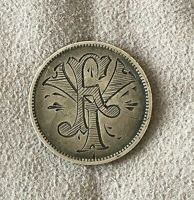 "Antique Canada Victoria Love Token ""Fy"""