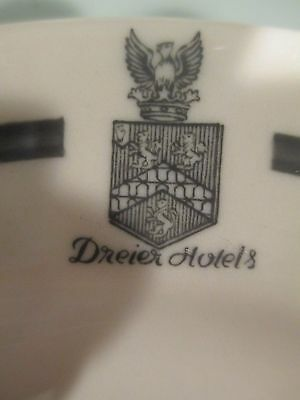 DREIER Family Crest Coat of Arms Armorial Hotel China Plate