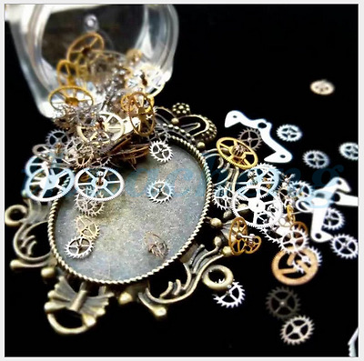 50 piece Fashion Bronze Watch Parts punk style jewelry