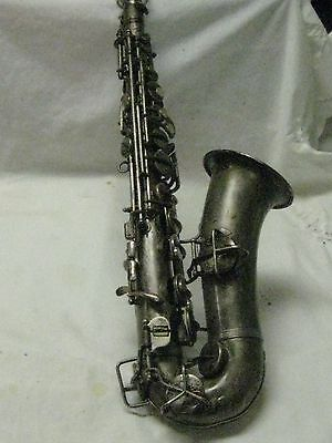1930's CAVALIER ALTO SAXOPHONE #01128 made by PAN AMERICAN