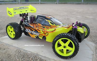 RC NITRO BUGGY / CAR HSP WARHEAD 2 SPEED 2.4G 1/10 Scale MA3