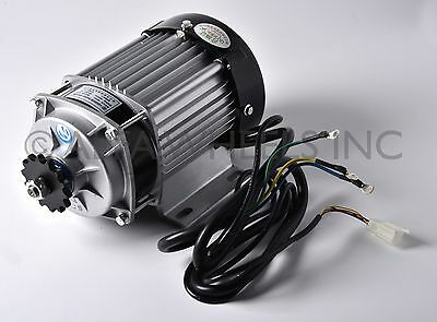 48V 750W Electric Scooter Tricycle Brushless Motor DIY Reduction Motor Engine