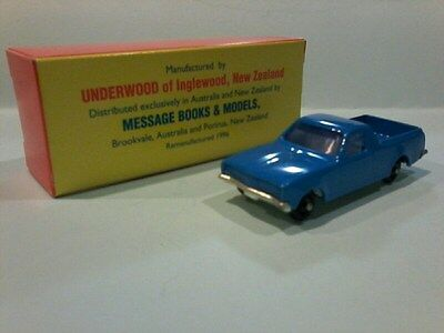 Fun Ho  # FH57 HOLDEN UTE Blue  MINT BOXED 67mm long  made in New Zealand boxed