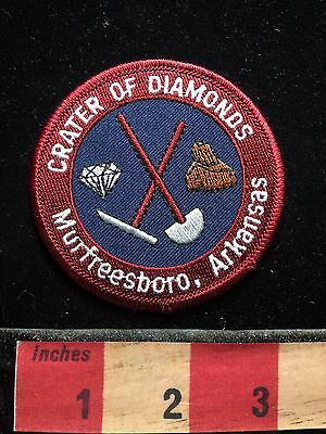 Crater Of Diamonds Murfreesboro Arkansas State Park Patch 71WO