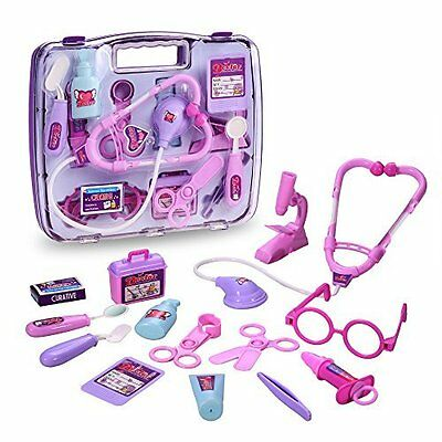Arshiner Pretend Play Set For Kids, Doctor Set Medical Kit Packed in a Sturdy