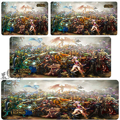 High quality League of Legends PC Game All the heroes Mouse pad(Different sizes)