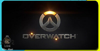 2017 Overwatch Game logo Mouse pad large size(Different sizes)