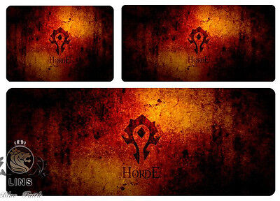 World of Warcraft Horde logo Game Mouse pad large size(Different sizes)