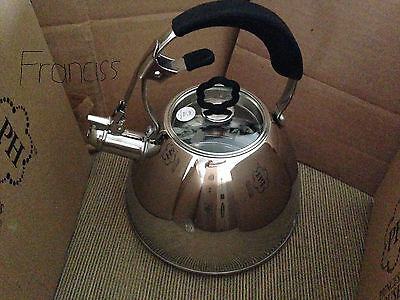 New Princess House Stainless Steel Whistling Kettle #6892