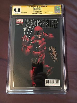 Wolverine #13 J.Scott Campbell Cover SIGNED By STAN LEE Signature Series CGC 9.8