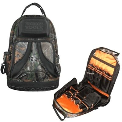 Klein Tools Tradesman Pro Camouflage Tool Parts Storage Bag Backpack