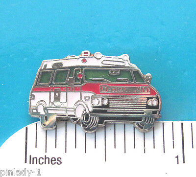 AMBULANCE - hat pin , lapel pin , tie tac , hatpin GIFT BOXED