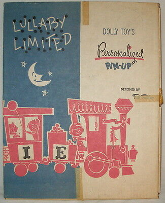 Vintage Nursery Wall Decor Lullaby Limited Designed By Phil Riley Dolly Toys