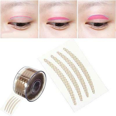 600pc Invisible Lace Fiber Tape Small Eyelid Sticker Roll Narrow Makeup Tool KK
