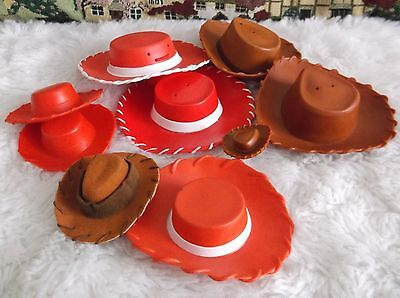 Toy Story Woody & Jessie (Doll Figures ) Hats Various Sizes Disney Pixar