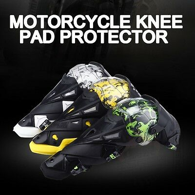 SCOYCO Motorcycle ATV Racing Motocross Knee Pads Protective Guards Armor Gear CN
