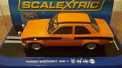 Scalextric  Ford Escort Mk1 MEXICO...ONLY 1500 MADE ..RARE