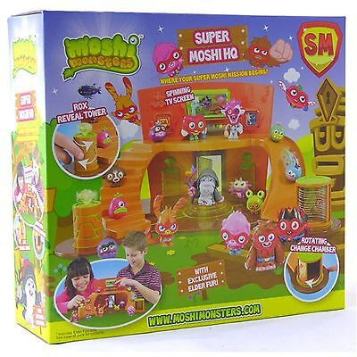 Moshi Monsters Super Moshi HQ Playset Brand New
