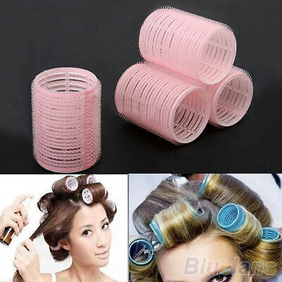 6pcs Grip Cling Hair Styling Roller Curler Hairdressing tool DIY 7 Sizes Dulcet