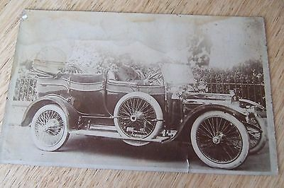 East Finchley , No 2 The Gardens, Barnet, old chauffeur Driven car, R/Photo/Pc,