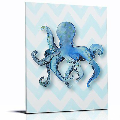 Cici Art Factory Canvas Print Wall Hanging, Octopus