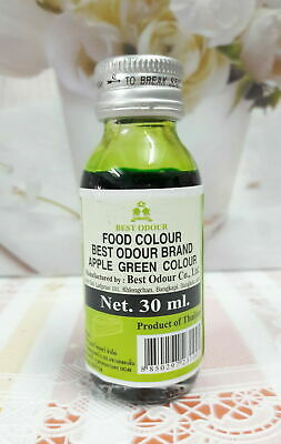 30 ml ,1 Bottle BEST ODOUR Brand Food Color Apple Green Color Free Shipping