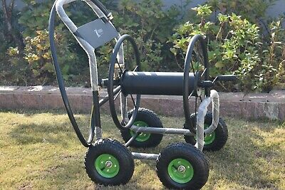 NEW ZORRO Heavy Steel Hose Reel Trolley (Available in Green & Red)