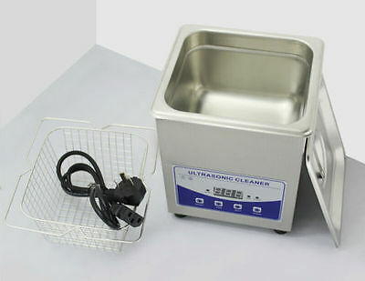 2L 80W Ultrasonic cleaning machine 220V for Jewelry Watch Motherboard Nozzle