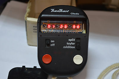 Hanhart electronic Digital-stopwatch Oled made in Germany