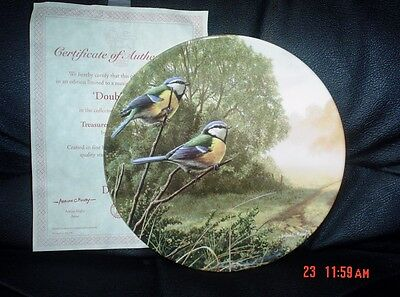 Royal Doulton Collectors Plate DOUBLE ACT