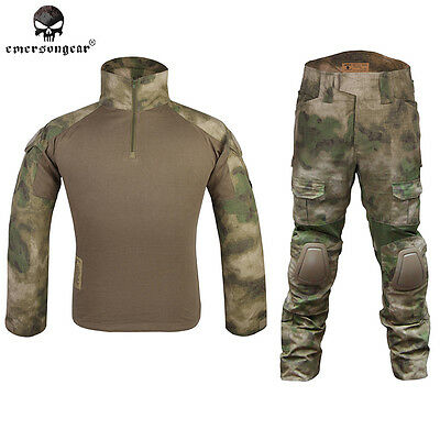 EMERSON Gen2 Combat Uniform Military Tactical Airsoft Clothing A-Tacs FG 6922