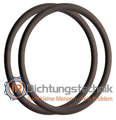 O-Ring Nullring Rundring 60,0 x 2,5 mm FKM 75 +/- 5 Shore A braun (2 St.)