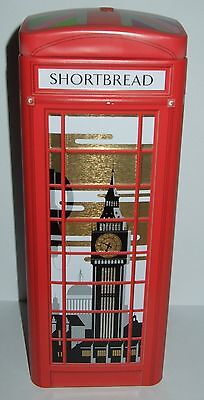 Collectible M&S Telephone Box Biscuit Tin London Scenes