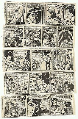 Incredible Hulk by Larry Lieber and Alan Kupperberg - 203 dailies, 1982