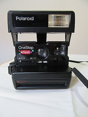 Polaroid One Step 600 Flash Instant Camera Vintage Great Condition