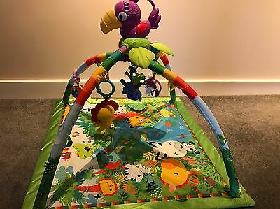 Fisher Price Rainforest Playmat And Gym