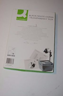 Q Connect OHP  PPC Film Clear 100 Micron A4 (Pack of 100) KF26066