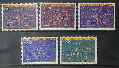 Paraguay 1962 MNH Planets Space