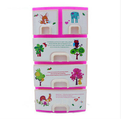 Barbie Doll Accessories Case with Pull Out Drawers & Accessories NT